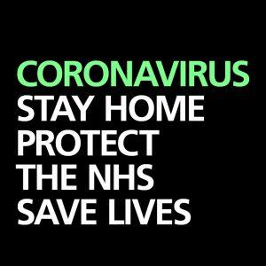 Coronavirus stay home save lives