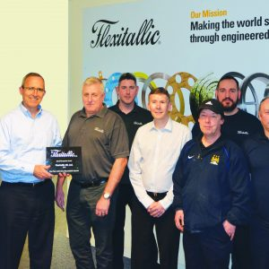 Flexitallic Safety Milestone Award