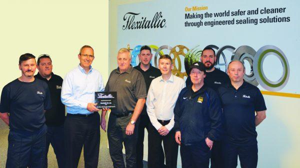 Flexitallic Safety Milestone Award