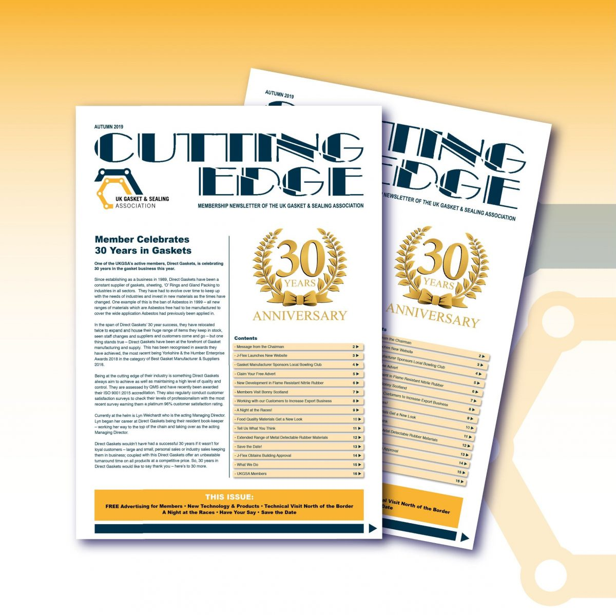 Latest issue of Cutting Edge