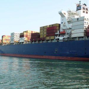 Shipping disruption
